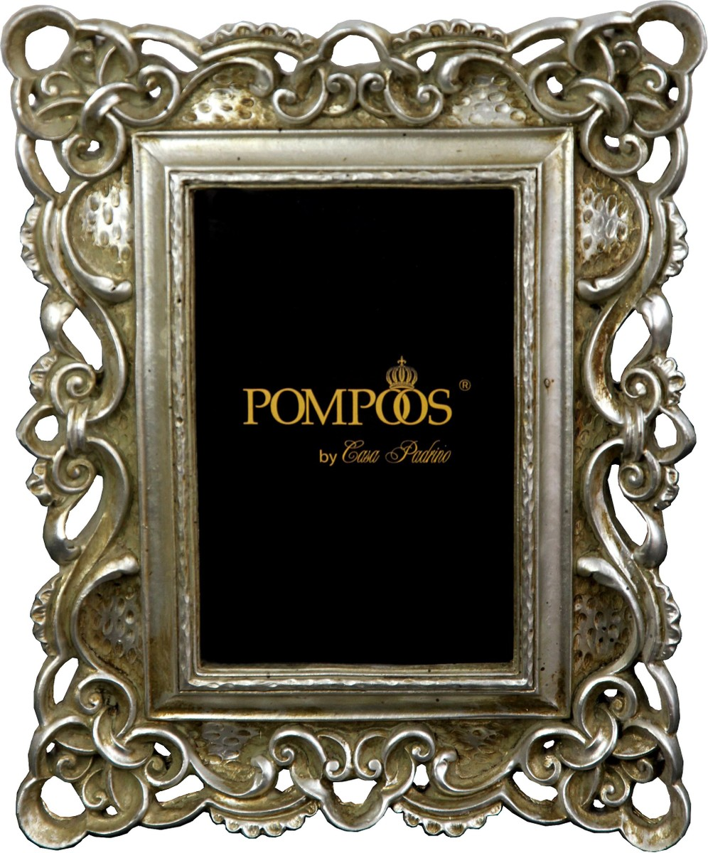 Pompöös by Casa Padrino Barock Bilderrahmen Antik Stil Silber von ...