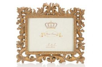 Casa Padrino Baroque Picture Frame 24 x H. 20 cm in antique gold in17251